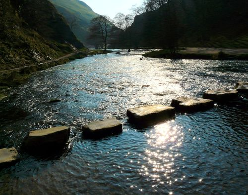 The Stepping Stones at Dovedale