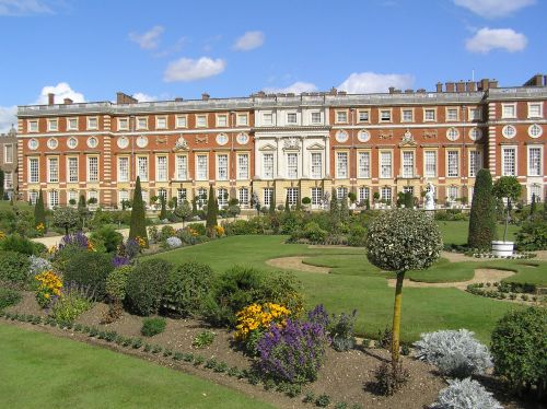 """Roses In Garden: """"The King's Privy Garden At Hampton Court"""" By Hilary Hoad"""