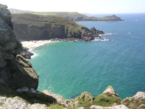 Cliff view near Zennor on a gorgeous day