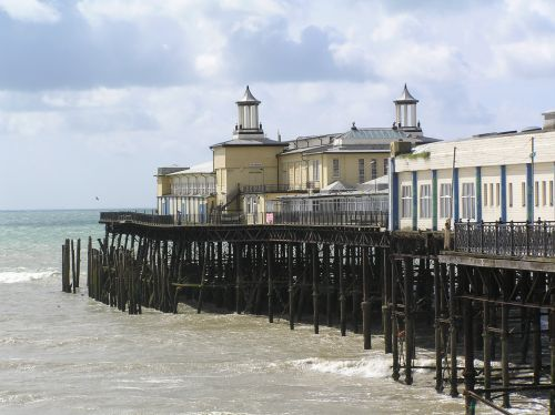 End of the pier at Hastings