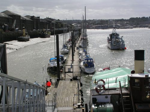 Pier at Chatham Naval Dockyard