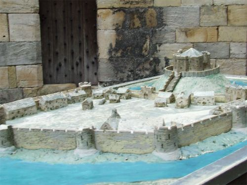 Model of Clifford's Tower - 2
