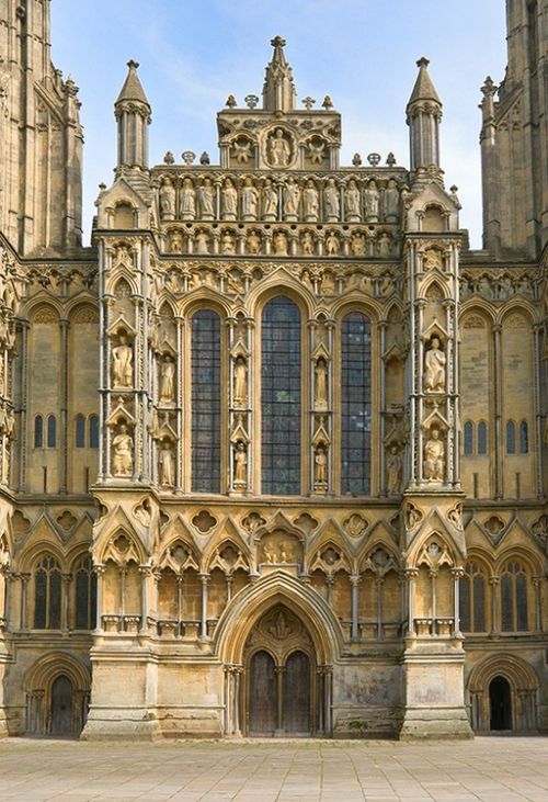 Quot Facade Of Wells Cathedral Quot By Joseph Votano At