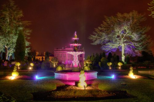 Enchanted gardens Brodsworth hall