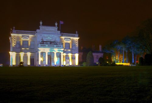 Brodsworth Hall at night