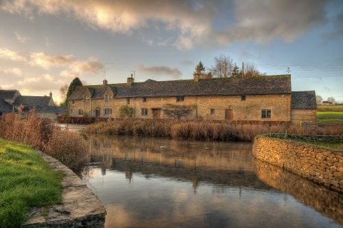 A Vanilla Sky, Lower Slaughter, Cotswolds