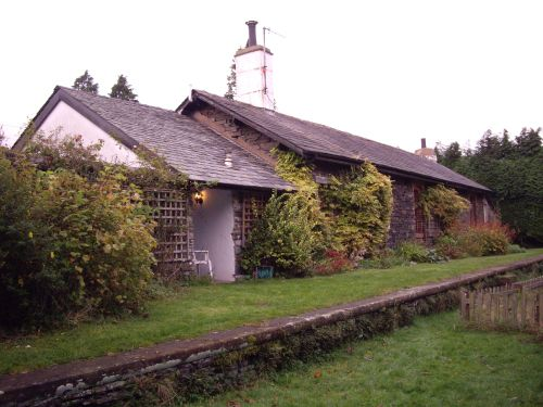The station house at Torver