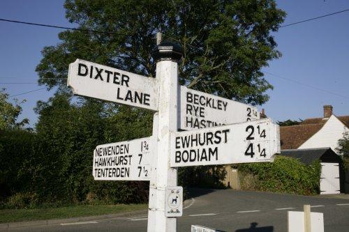 A28 road sign
