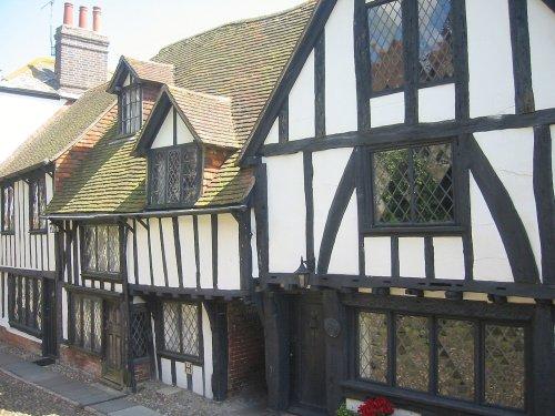 Typical Rye buildings