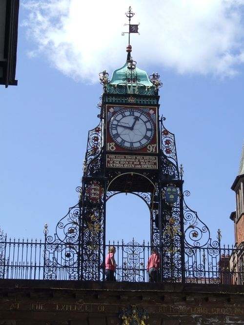 Victorian clock tower