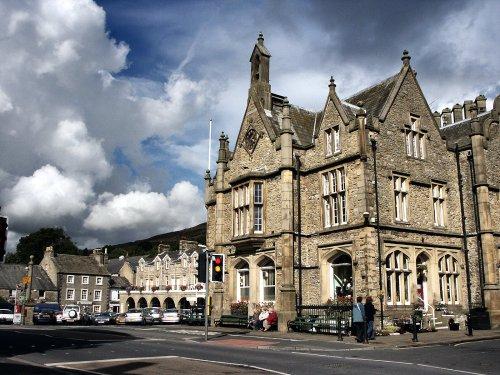 Yorkshire, Settle | Ye Olde Naked Man Cafe dating from