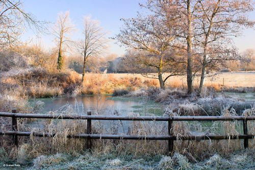 Stour Valley Winter, Shillingstone.