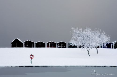 Dovercourt, Winter Scene