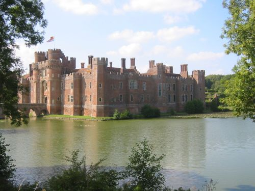 The Castle at Herstmonceux