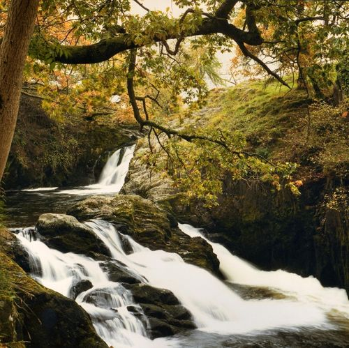 Waterfall near Ingleton - By Mick Carver