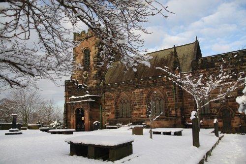 St Lawrence Church, Frodsham, Cheshire.