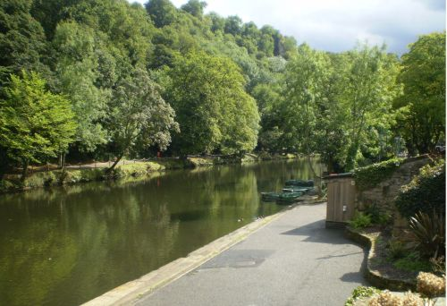 A view of Matlock Bath