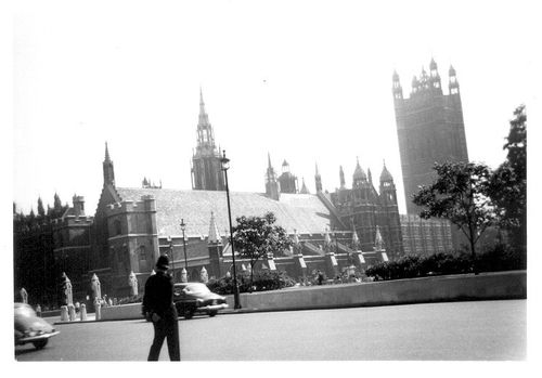 Houses of Parliament, London 1964
