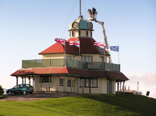 Pavilion on the mount Fleetwood