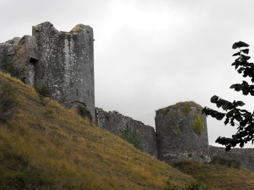 From the back side of Corfe Castle