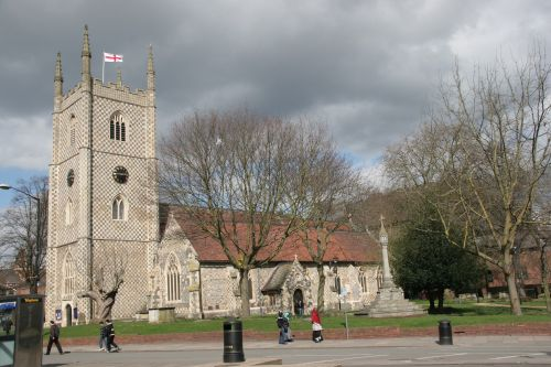 St. Mary the Virgin Church, Reading