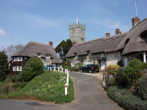 Godshill in April