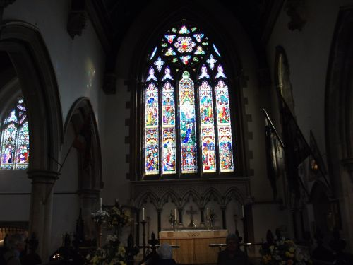 Altar window in St.Thomas's Church