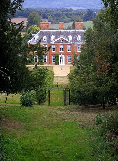 The Mansion seen from the gardens