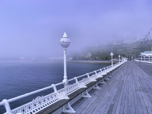 A misty day in Torquay
