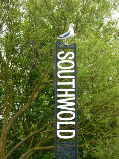 New and unusual sign at Southwold