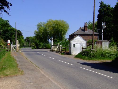 Gosberton Level Crossing, Lincolnshire - 3 June 2010