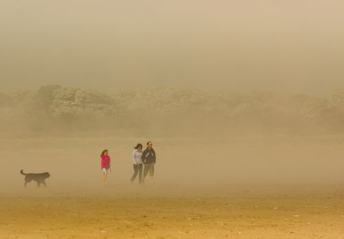 Sea Fret in Mablethorpe