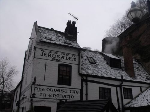 Ye Old Trip to Jerusalem, Nottingham