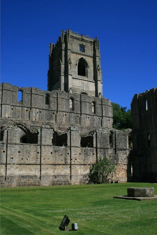 Fountains Abbey. North Yorks.