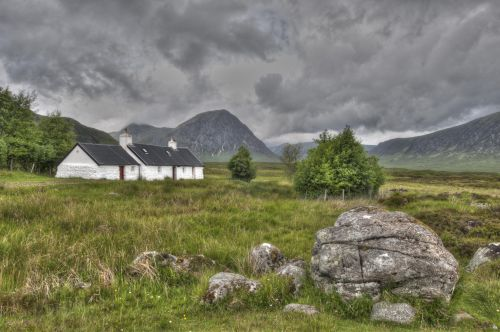 Little house at the foot of Glencoe