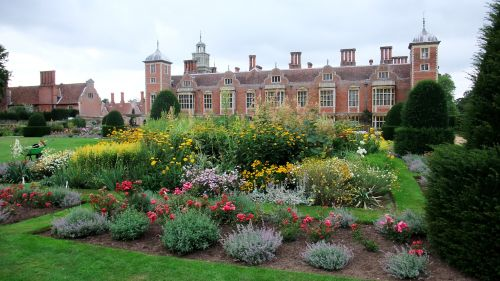 Rear View of Blickling Hall