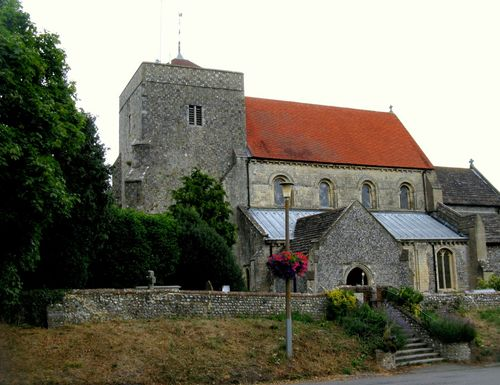 Norman Church - Steyning in West Sussex
