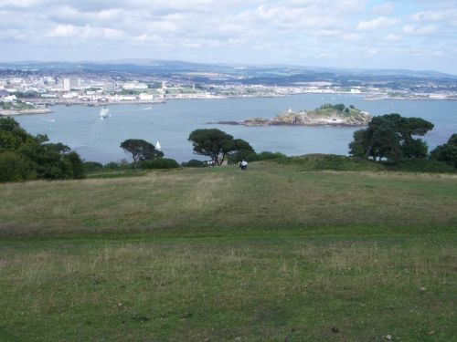 Overlooking Plymouth