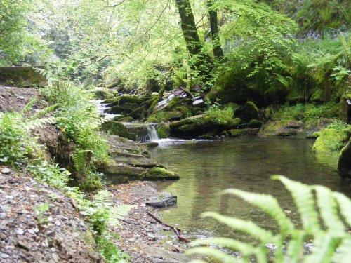 St. Nectan's Glen near Tintagel