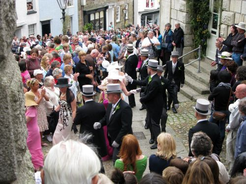Flora Day dancers, Helston -The Furry Dance (Principal Dance)