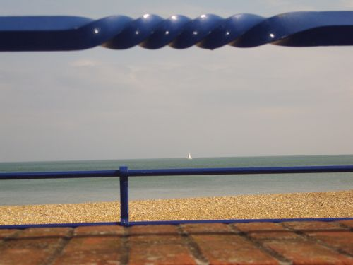 Eastbourne, view of the sea