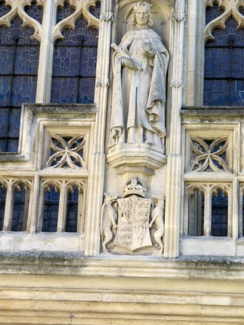 King Henry VII, West Front, Bath Abbey