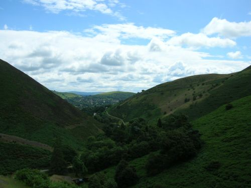 Looking towards Church Stretton