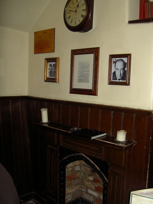 Inside the Eagle and Child, Oxford