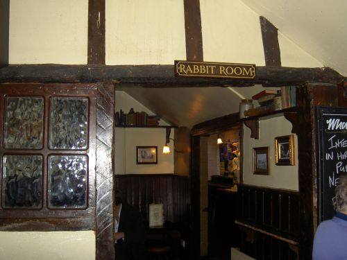 The Rabbit Room where the 'Inklings' met.