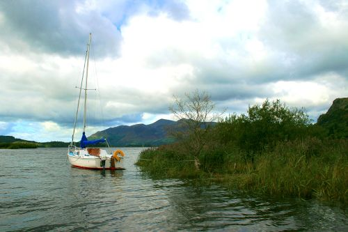 Derwentwater, eastern shore looking to the north.