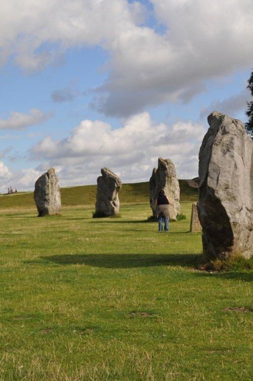 Stone circle, Avebury, Wiltshire, England.