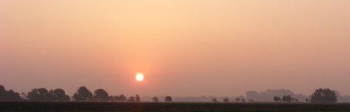 Sunrise at Copt Hall