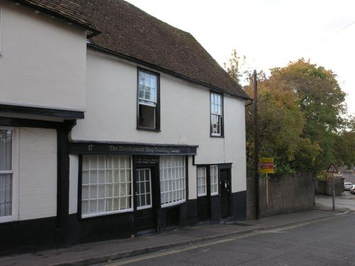 16th Century building, Chantry Street Andover
