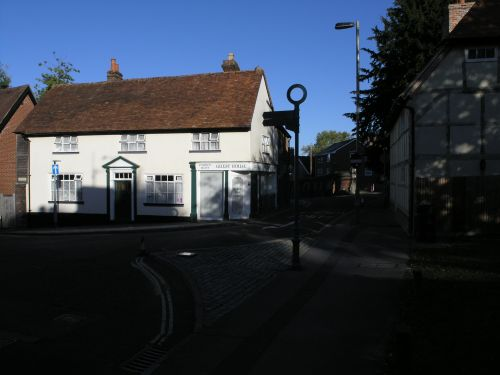 Junction of Marlborough Street and Chantry Street, Andover